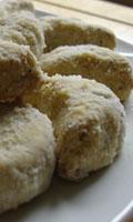 Croissants sablés