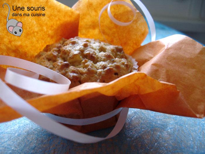 Muffin au lait de coco et à l'orange