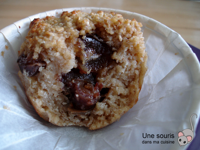Muffins au couscous et aux dattes