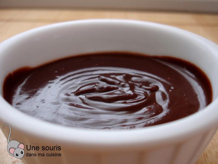 Pouding crémeux au chocolat