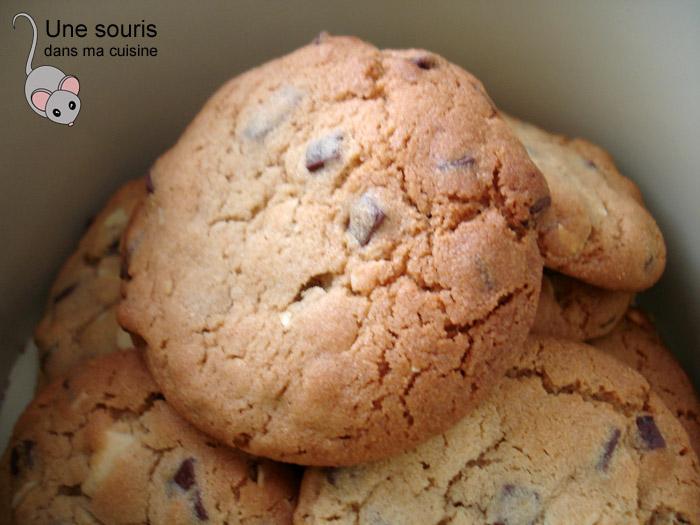 Biscuits au beurre d'arachides et au chocolat