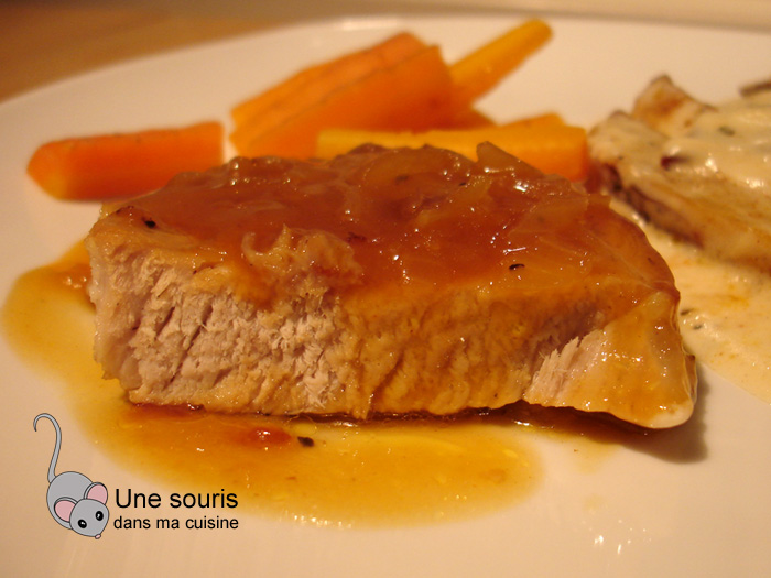 Côtelettes de porc à la Cendrillon