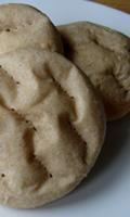 Faluches avec un peu de farine complète