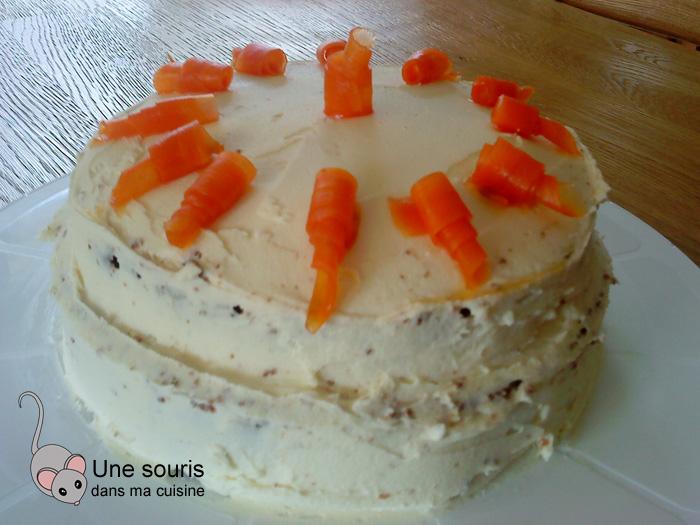 Gâteau aux carottes et au chocolat