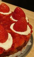 Le gâteau et les efforts de présentation...