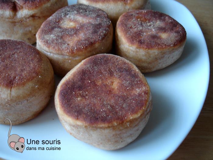 Muffins anglais de Gontran