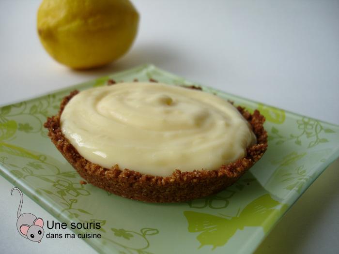 Tarte au citron et à la crème sure