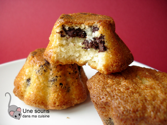 Petits gâteaux aux pépites de chocolat