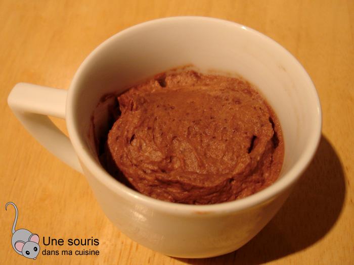 Mousse au chocolat et aux marrons