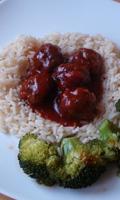 Boulettes en sauce rouge