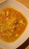 Une soupe de poulet classique