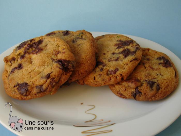 Biscuits aux éclats de chocolat et de noisettes