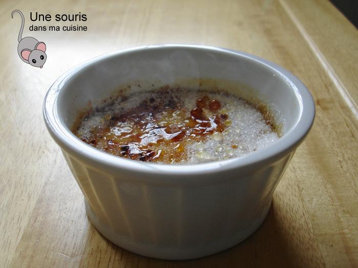 Crème brûlée de Laurent Godbout