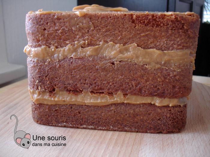 Gâteaux aux trois vanilles et confiture de lait