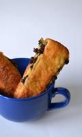 Brioche crème pâtissière et chocolat