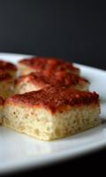 De la tomate sur une pâte