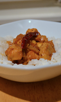 Curry de poulet d'Al dente