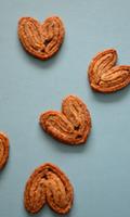 Biscuits à la pâte feuilletée