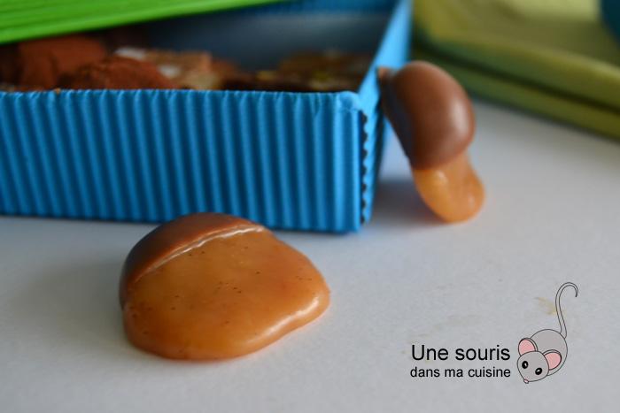 Caramel mou enrobé de chocolat