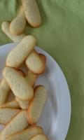 Biscuits craquant à la vanille