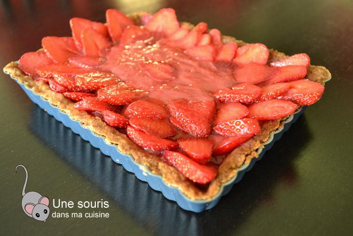 Tarte aux fraises fraisissime d'Isa