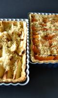 Tarte aux abricots ou aux pommes