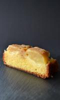 Gâteau à la pâte d'amande et aux pommes