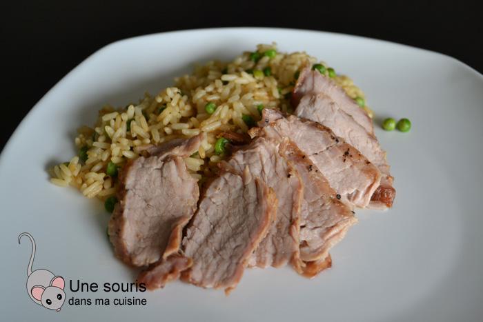 Filet de porc laqué à la chinoise