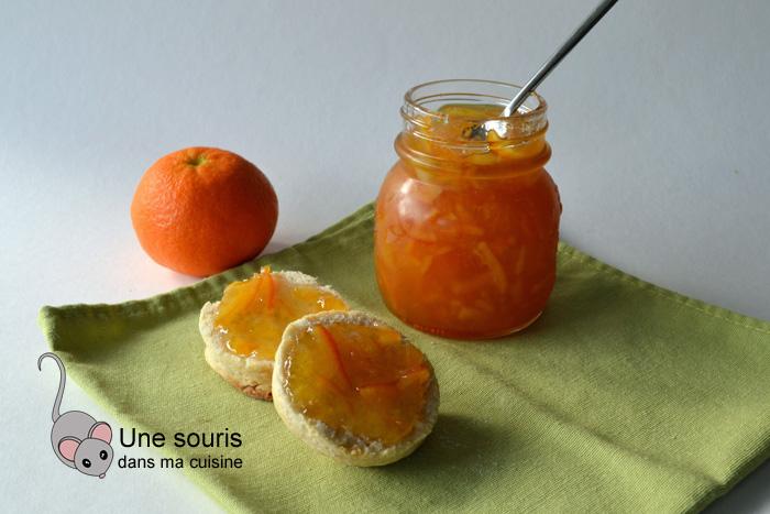 Marmelade de clémentines et d'oranges