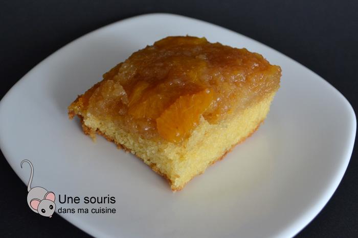 Pouding chômeur aux minneolas (ou à l'orange)