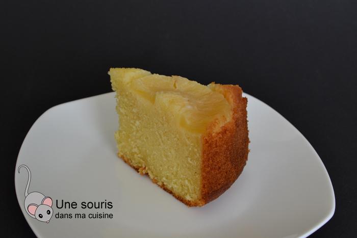 Gâteau rond à l'ananas de Grand-maman