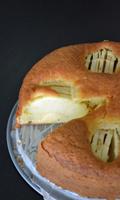 Gâteau aux pommes aérien
