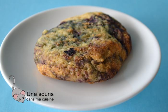Biscuits moelleux au citron et aux bleuets