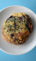 Biscuits au citron et aux bleuets