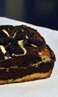 Gâteau marbré aux Oréo