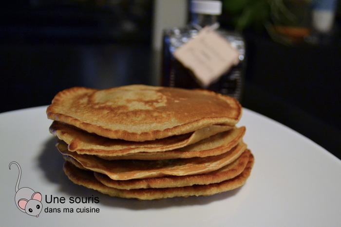 Pancakes comme un pain d'épices