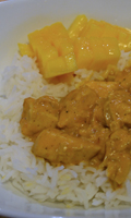 Curry de poulet selon Danny St-Pierre