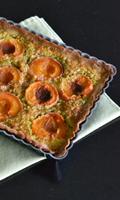 Tarte aux abricots à la crème d'amandes et de pistaches