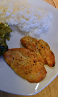 Poulet et courgettes au curry