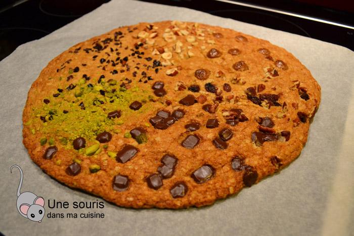 Biscuit géant garni