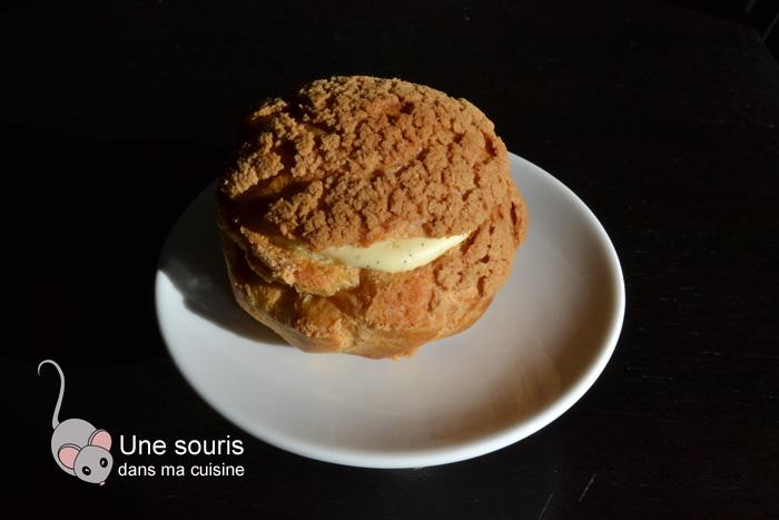 Choux à la crème pâtissière dite légère