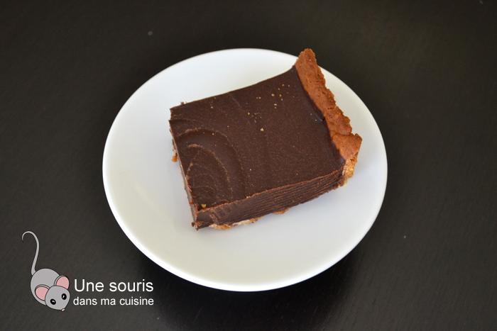 Tarte au chocolat et beurre d'arachide