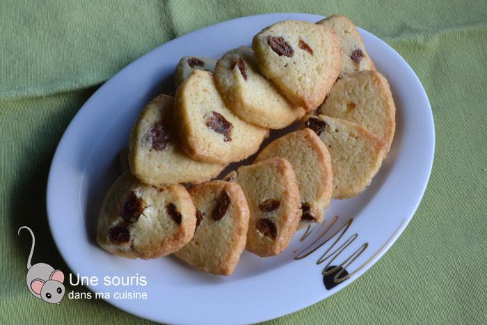 Biscuits aux abricots et à l'abricotine