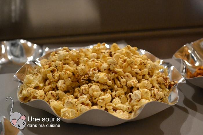 Popcorn cajun de Ricardo