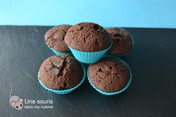 Gâteaux au chocolat et aux pépites de chocolat à la fleur de sel de Pierre Hermé