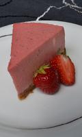 Gâteau mousse aux fraises