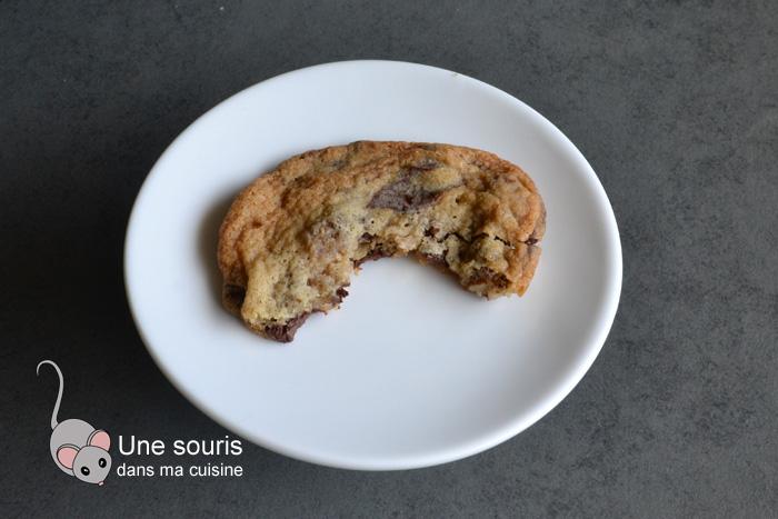 Biscuits au chocolat et aux pacanes qui se congèlent