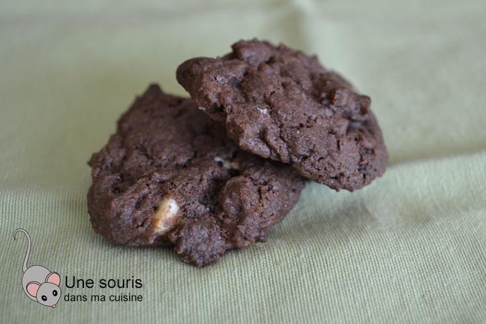 Biscuits à la crème sure et chocolat