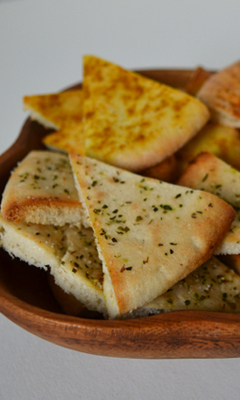 Chips de pain pita