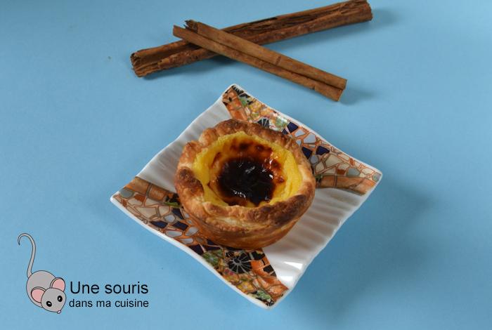 Tartelettes portugaises (patéis de nata)